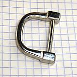Ручкодержатель верхний никель для сумок t4396 (4 шт.), фото 4