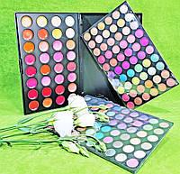 !!!Набор для макияжа Тени палитра 120 №3 + палитра помад 35 оттенков!!!, фото 1