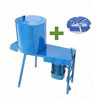 Кормоизмельчитель (бурякорезка) Bizon 1.5 кВт + Диск для лущения кукурузы