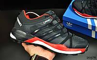 Кроссовки мужские в стиле Adidas Terrex 355 темно синие код 20376, фото 1