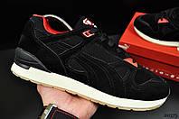 Кроссовки мужские в стиле Puma черные код 20375, фото 1