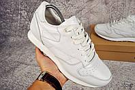 Кроссовки мужские в стиле Reebok classic белые код 20285, фото 1