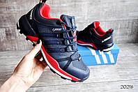 Мужские кроссовки в стиле Adidas Terrex 355 сине-красные код 20216, фото 1