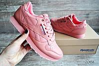 Кроссовки женские в стиле Reebok classic розовые код 20156, фото 1