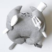 Дизайнерская игрушка Кот Повар
