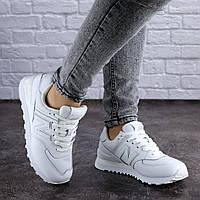 Женские кроссовки белые NB 1991, фото 1