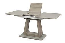 Стол TML-521-1 (Серый мат + Серый Дуб) 1200(+400)*800, фото 2