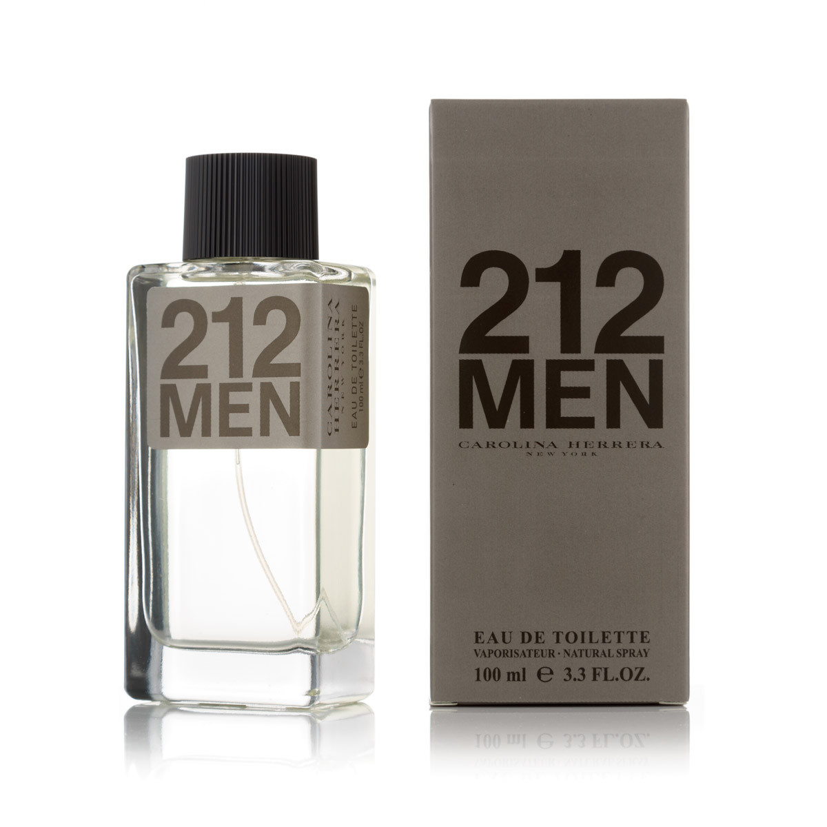 100 мл туалетна вода Carolina Herrera 212 Men (М)