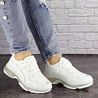 Женские белые стильные кроссовки Badlands 1522, фото 1