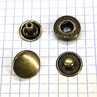 Кнопка альфа 15 мм антик Китай a4221 (360 шт.)