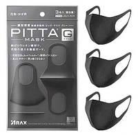 Многоразовая маска питта 3 шт