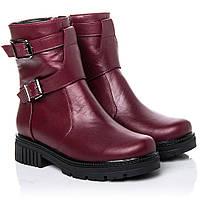 Ботинки La Rose 2261 37 ( 24 см) Бордовая кожа, фото 1