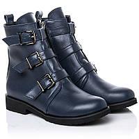 Ботинки La Rose 2263 36(24см) Синяя кожа, фото 1