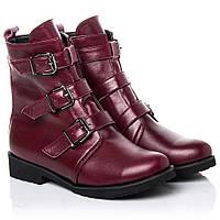 Ботинки La Rose 2263 36(24см) Бордовая кожа, фото 1
