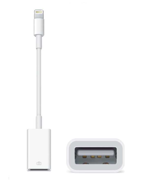 Переходник Apple Lightning to OTG USB Camera Adapter (MD821)