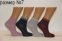 Детские носки средние Montebello Ф3 б/р 7  резинка люрекс
