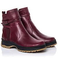 Ботинки La Rose 2265 36(23,4см) Бордовая кожа, фото 1