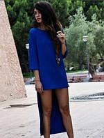 Женское Длинное сзади Платье ПОШИВ на заказ Р.40-54 *Разные Цвета*, фото 1
