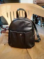 """Женский кожаный рюкзак-сумка (трансформер)  """"Калисто 2 Black"""", фото 1"""