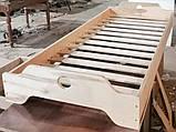 Ліжко дитяче з фанери монтесори, фото 3