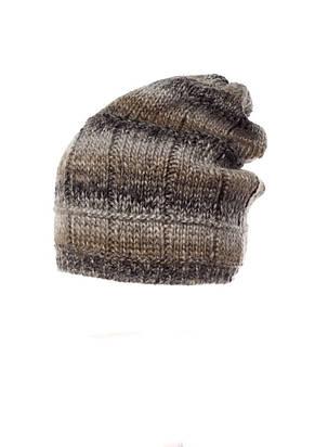 Красивая теплая вязаная шапка женская Blanka от Pawonex., фото 3