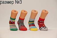 Детские носки средние стрейчевые компютерные Montebello Ф3 м/р 3  машинки