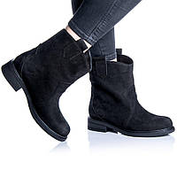 Ботинки Rivadi 2253 36(24 см) Черный нубук, фото 1