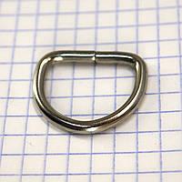 Полукольцо 20 мм никель для сумок t4232 (40 шт.)