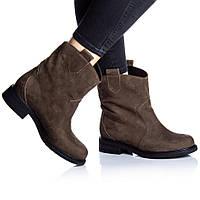Ботинки Rivadi 2253 36(24 см) Коричневый нубук, фото 1