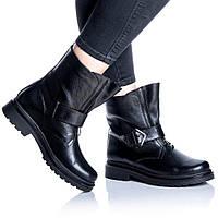 Ботинки Rivadi 2254 36(23,4см) Черная кожа, фото 1