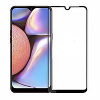 Защитное стекло 3D для Samsung A10 / A10S / M10 (Черный)