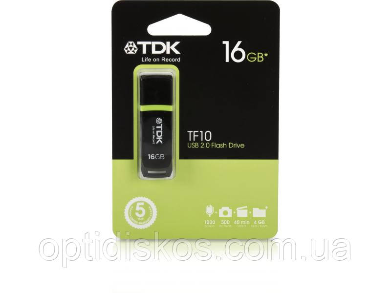 Флешка TDK TF10, 16Gb