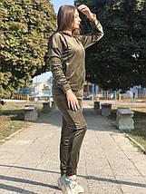 Спортивный костюм женский BR-S велюровый хаки 48 р. (1260674783), фото 3