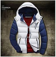 Мужской зимний пуховик, мужская стильная куртка, модель 0335