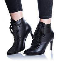 Ботинки Rivadi 2266 36(23,5см ) Черная кожа, фото 1