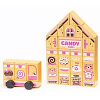 Деревянный конструктор Candy shop Cubika 15115