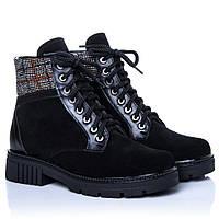 Ботинки La Rose 2271 36(23,4см) Черная замша, фото 1