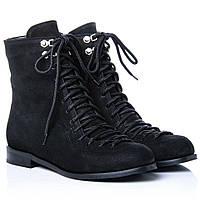 Ботинки La Rose 2272 36(24см) Черный нубук, фото 1