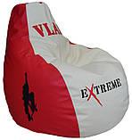 Безкаркасне крісло мішок груша пуф для підлітків і дітей, фото 2