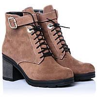 Ботинки La Rose 2274 39(26 см ) Коричневый нубук, фото 1