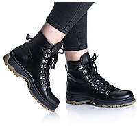 Ботинки Rivadi 2276 36(23,4см) Черная кожа, фото 1
