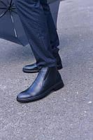Ботинки натуральная кожа черные классические, фото 1