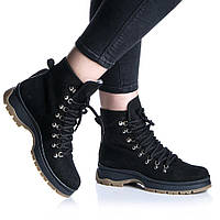Ботинки Rivadi 2276 36(23,4см) Черный нубук, фото 1