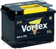 Аккумулятор автомобильный 6СТ-62 Vortex