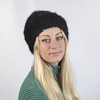 Женская шапка из натурального меха - Андатра, сноп (код 29-271)