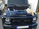 """Накладка на капот- воздухозаборник Mercedes G- class """"кубик"""", фото 7"""