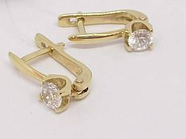 Золотые серьги. Артикул С00688Ж
