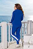 Модный женский спортивный костюм,размеры:48-50,52-54,56-58., фото 5