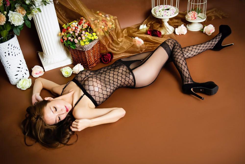 Сексуальная боди-сетка бодистокинг комбинезон/ сексуальное белье/ эротическое белье