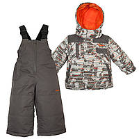 Куртка, полукомбинезон Gusti Zingaro 4906ZWB Серый Размеры на рост 92, 98, 104, 110, 116, 122, 134 см